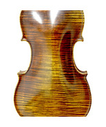 Professional Level Hand-made Maple Wood One Piece Back Violin Antique Style - $924.84