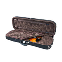 **CLEARANCE**Professional Violin Oblong Rectangular Case 4/4 Size BLACK/... - $65.09