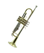 **GREAT GIFT**New Trumpet/Copper Lead Pipe w Hard Case & Carrying Bag - $139.89