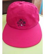 Cutter & Buck Red Golf Adjustable Non Formed Baseball Cap Hat! Nice! - $19.30