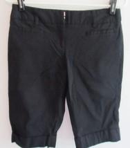 Tracy Evans Black Casual Walking Shorts! Sz 5! Mid Length! Sharp! - $5.94