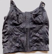 Mujer Latina Black w/ Lace Corset Front Closure Bra! Size 36! - $17.37