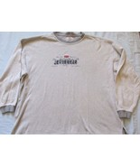 Levi Strauss Gray Pullover Long Sleeve Sweater Shirt! Sz XL! 100% Cotton! - $6.42