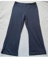BCG Dark Blue Warm up Yoga Capris Pants! Sz M! Cotton Blend! Nice - $12.12