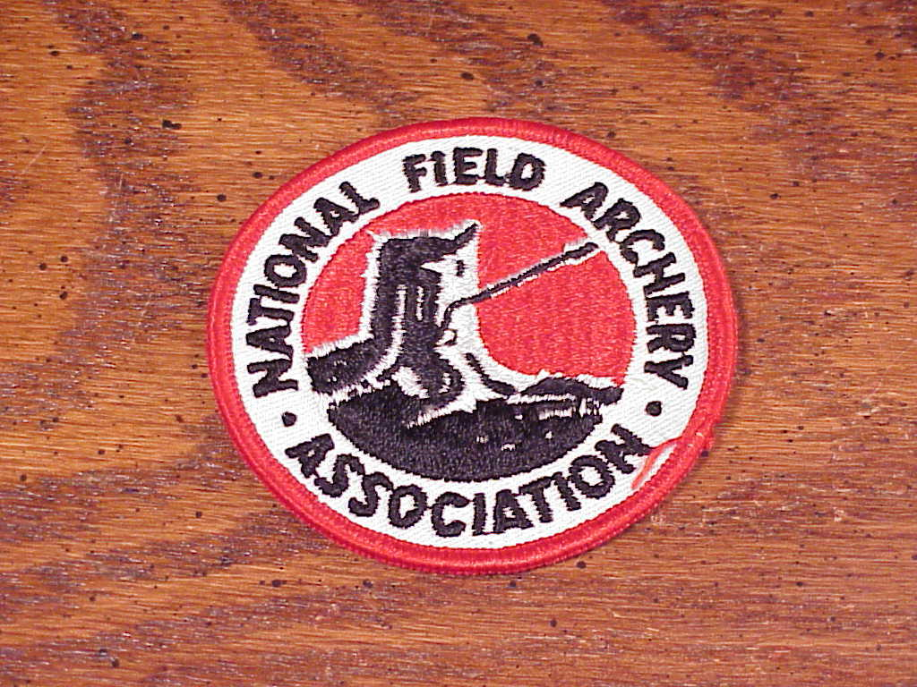 National Field Archery Association Sew On Patch