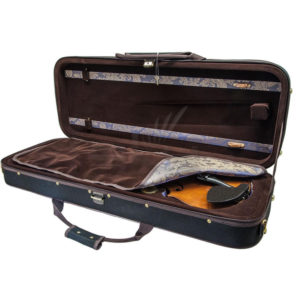 SKY Viola Oblong Case Solid Wood with Hygrometers Khaki/Khaki