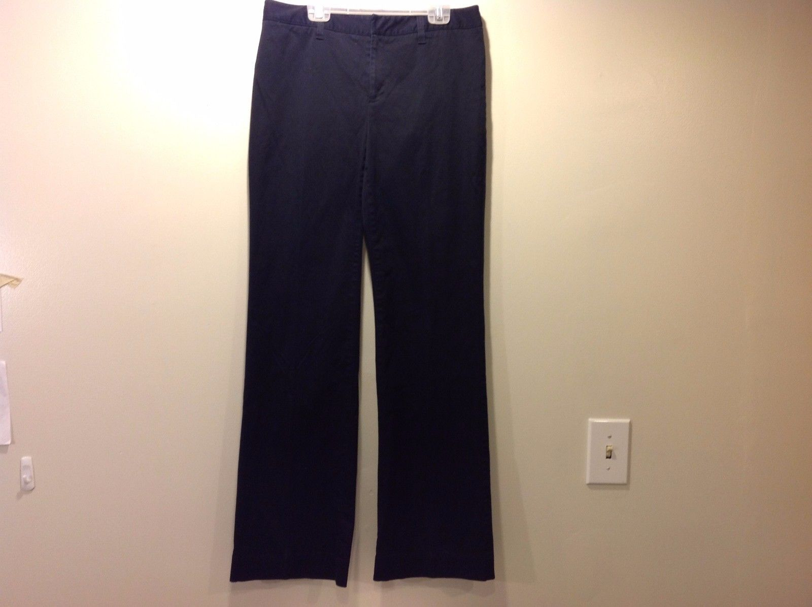 Used Great Condition Casual Corner Black Stretch Pants Size 8 Cotton Blend