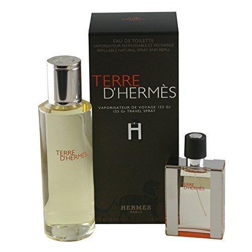 Hermes terre d 39 hermes 2 piece gift set for men by hermes for Bathroom sets for men