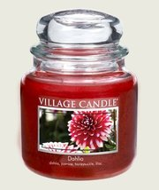 Village Candle Dahlia Scented 16 oz Candle - $24.99