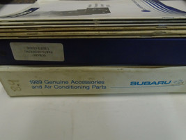 Subaru Parts Catalog Manual Technical Training 9 Volume Set Factory FEO Books - $79.15