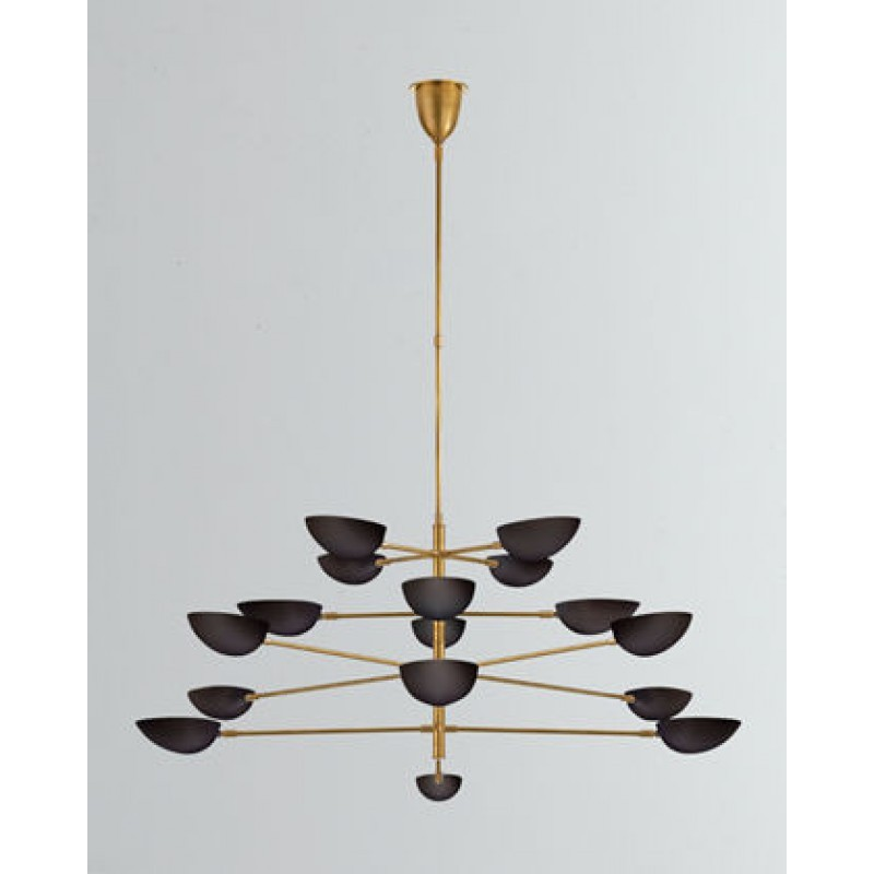 Primary image for MV3008 GRAPHIC GRANDE FOUR-TIER CHANDELIER