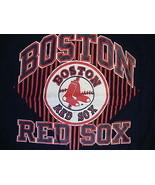 True Vintage Champion Blue MLB Boston Red Sox Baseball TShirt Fits Adult... - $21.97