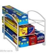 Kitchen Wrap Organizer Rack Shelf Foil Holder C... - $12.65