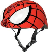 Spiderman Helmet bicycle kids sports protection safety halloween bike skateboard - $29.69