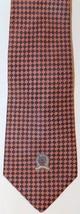 Tommy Hilfiger Men Neck Tie Blue Orange Checkered 100% Silk Made In USA - $23.36
