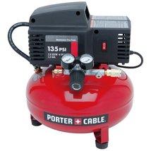 Tool Air Compressor PORTERCABLE PCFP02003 35Gallon 135 PSI Pancake - $163.64