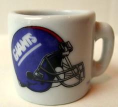 New York Giants MIni Mug miniature 1 1/4 inch tall - $6.44