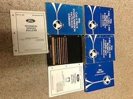 1996 Ford F-150 250 350 Bronco Truck Service Shop Repair Manual Set W EW... - $396.01