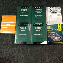 2004 DODGE DURANGO Service Repair Shop Manual Set W Recalls & Highlights... - $143.54