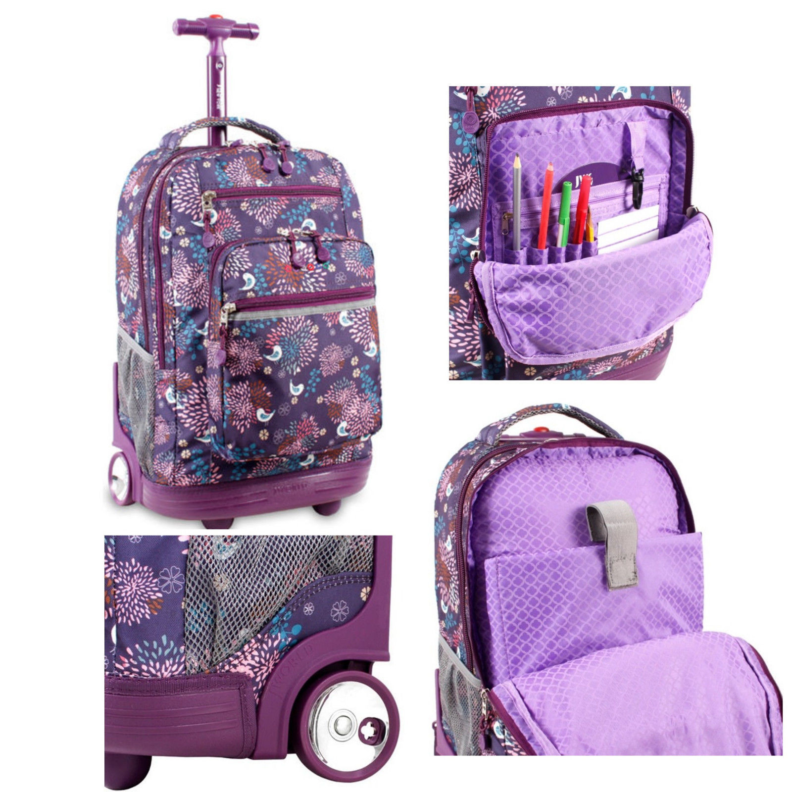 FEWOFJ Teen Girl School Backpack with Lunch Box Pencil Case, 3 in 1 Canvas Student Book Bag Set for Elementary Middle School Black. Sold by FastMedia. $ $ BLUBOON Canvas Backpack Girls School Bags Set for Teens, Bookbags + Shoulder bag + Pouch 3 in 1 Black. Sold by ErgodE.