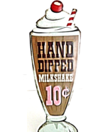 Hand Dipped Milkshake Antique Style Metal Wall Plaque Home Decor  - $22.00