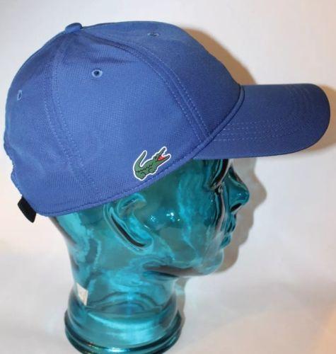NWT Lacoste Men Truckers Cap Monaco Blue One Size - $65.08