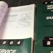 2004 DODGE DURANGO Service Repair Shop Manual Set W Recalls & Highlights + OEM image 5