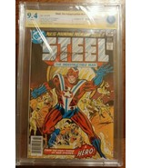 Steel, The Indestructible Man #1 CBCS 9.4 DC Signature Gerry Conway like... - $110.00