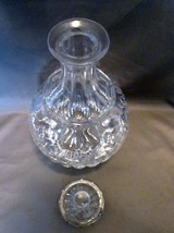 Crystal  Decanter By Block Stunning Incredible Refraction Tulip Design image 2