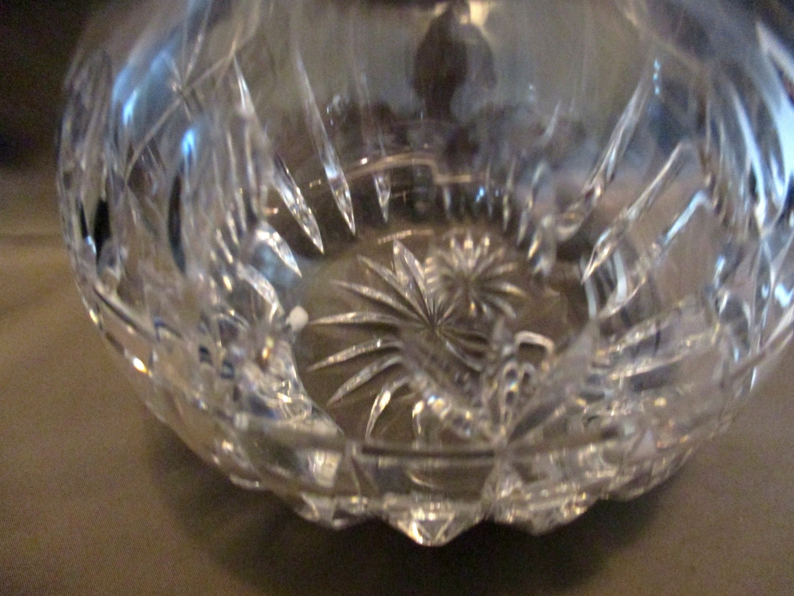 Crystal  Decanter By Block Stunning Incredible Refraction Tulip Design image 3