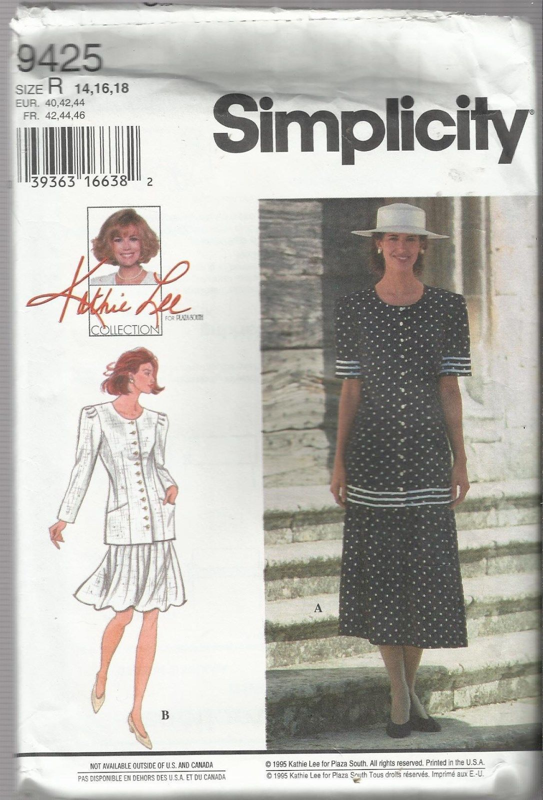 Simplicity 9425 Sewing Pattern: 1 listing