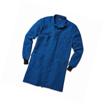 Workrite Uniform 357NX45RBMD 0R Flame-Resistant Lab Coat with Knit Cuffs... - $110.47