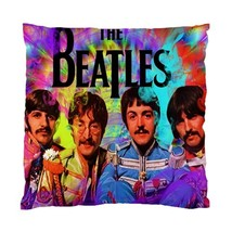 The Beatles Cushion Cover Throw Pillow Cover Case (Two Sides) -01 - $357,06 MXN