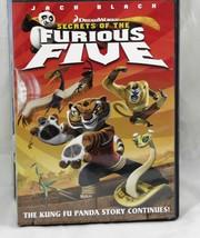 Secrets of the Furious Five  Dreamworks DVD 2008 Widescreen    - $6.53