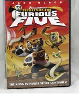 Secrets of the Furious Five  Dreamworks DVD 2008 Widescreen    - $6.53