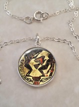 Sterling Silver 925 Pendant Necklace Greek Mythology Prometheus Liver Eaten - £23.18 GBP+