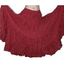 Modern Belly Dance 25 yard Cotton Skirt - $28.94