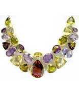 TearDrop of Golden Purple Ametrine + Citrine St... - $404.16