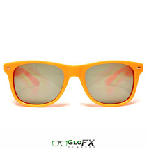 GloFX Ultimate Diffraction Glasses – Orange Tinted Prism Rave Dance Club Party - $17.99
