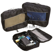 3pc 210d Polyester Packing Aid Cube Set with See-Through Mesh Small Trav... - £22.58 GBP