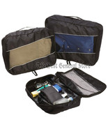 3pc 210d Polyester Packing Aid Cube Set with See-Through Mesh Small Trav... - $29.99