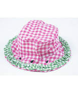 STARTING OUT NWT GIRLS INFANT HAT PINK GREEN WATERMELON SEEDS RUFFLES NEW - $4.94