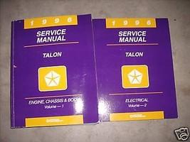 1996 Eagle Talon Service Repair Shop Manual Set Oem Factory 96 Book Huge - $49.49