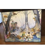 Large Molly Brett Framed Watercolor Picture~Pai... - $175.00