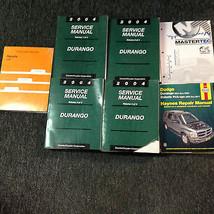 2004 DODGE DURANGO Service Repair Shop Manual Set W Recalls & Highlights + OEM image 2