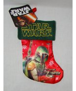 Star Wars Boba Fett Mini Christmas Stocking - $2.95