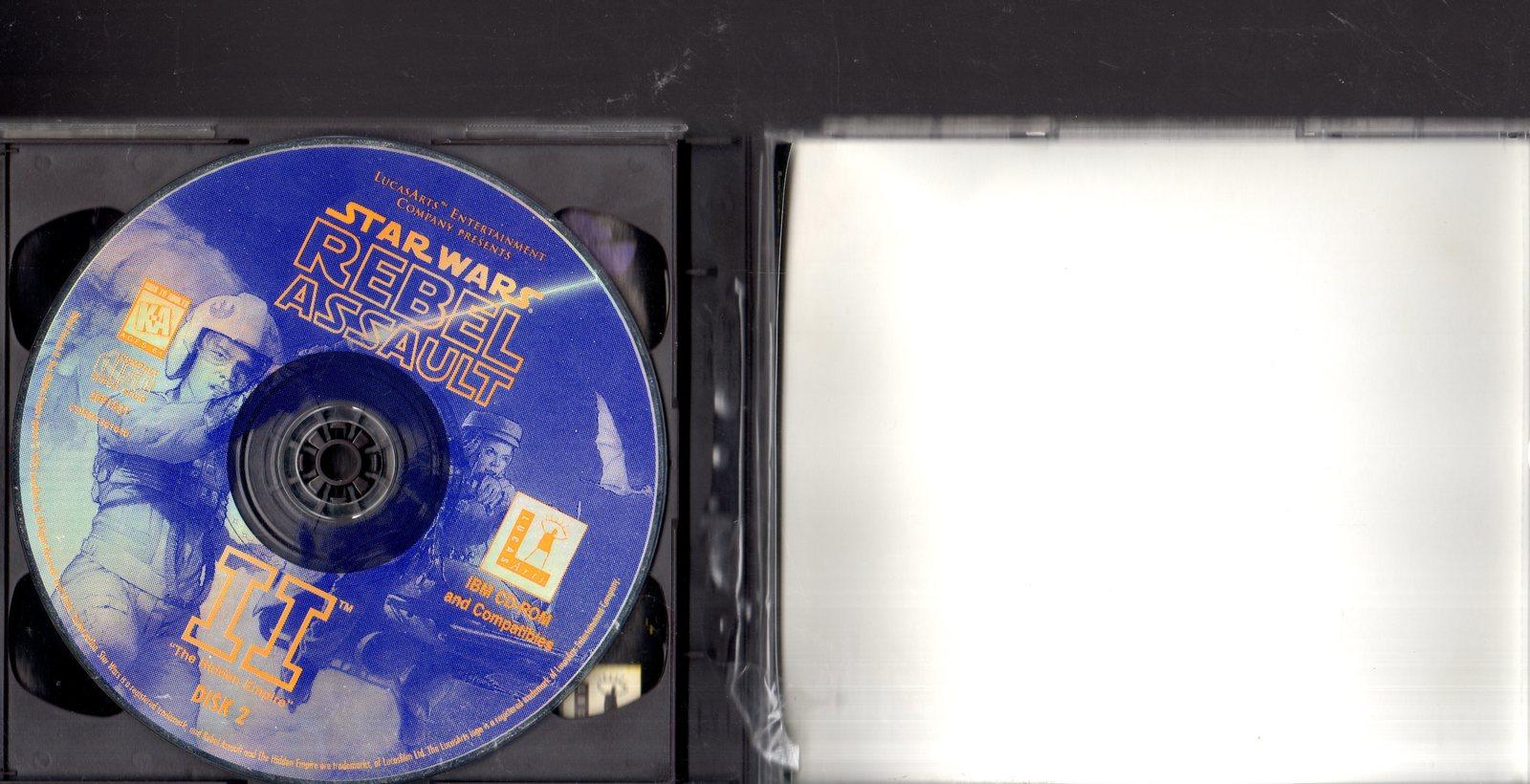 Star Wars - 3 PC Windows Games - Rebellion, Dark Forces, & Rebel Assauly II