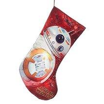 "Kurt Adler Star Wars BB-8  19"" Christmas Stocking with Sound - $25.98"