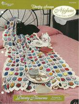 Needlecraft Shop Crochet Pattern 962380 Dainty Blossoms Afghan Collector... - $4.99