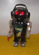 Vintage Strobot Robot Walking / Smoking / Lights / Lacer Sound  - $100.00